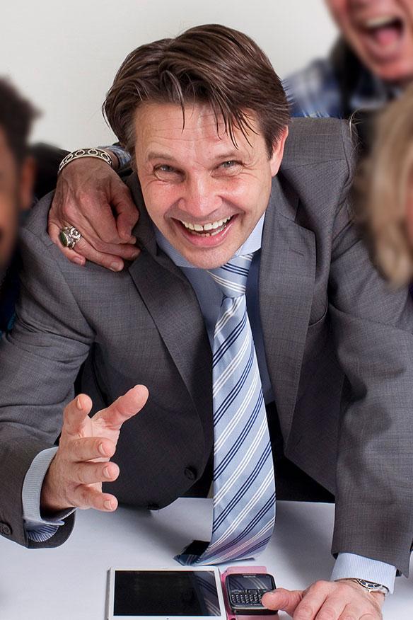Rinco van der Baan - Trainer, trainingsacteur, coach - Buro Acting