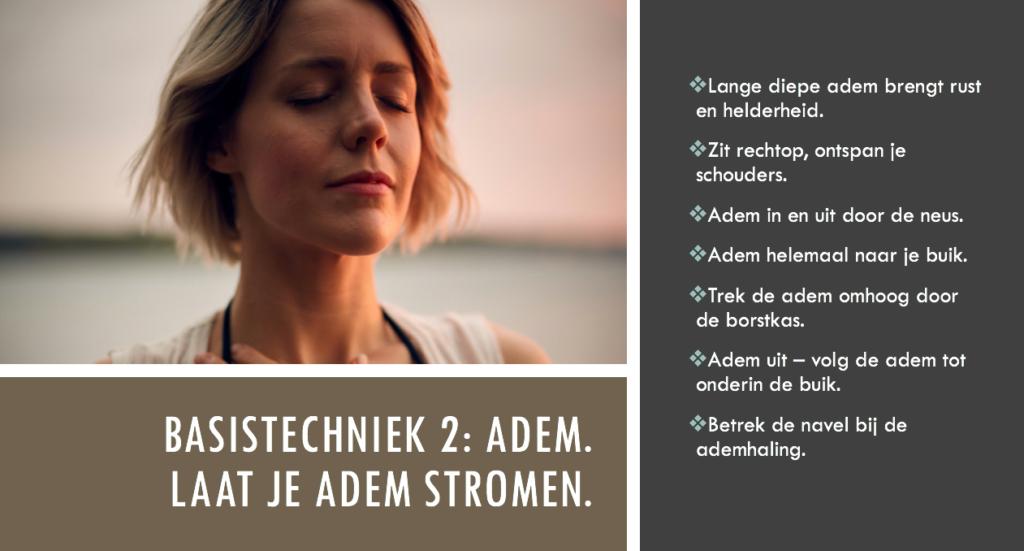 Ademtechniek en stress